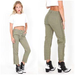 Mother Shaker Crop pants